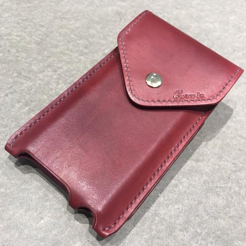 純手工縫製手工染色可全客製行動電源套