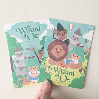 [The Wizard of Oz] postcard group (two sets)
