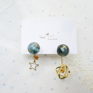 Love you to the moon and back limited edition earrings - pin type
