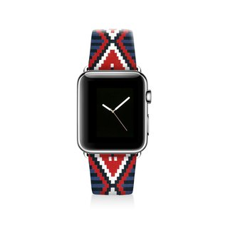 Aztec Apple watch band, Decouart Apple watch strap S001 (including adapter)