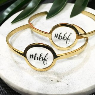 On My Mind Series - BBF bangle (a pair)