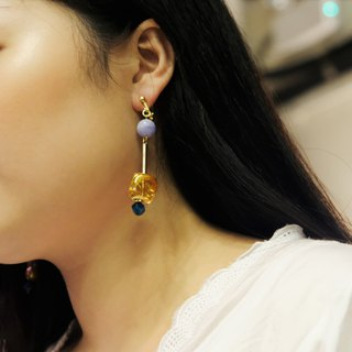 ALYSSA & JAMES Natural Stone Beads Earrings