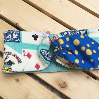 Blue Poker Cold Towel L