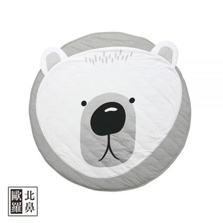 Mister Fly Baby Animal Shape Game Pad - White Bear