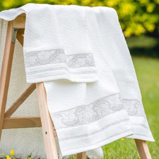 Spring Love - Portugal Import I Thick Touch I Bath Towel + Small Towel I Two