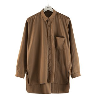Neutral change pocket shirt brown