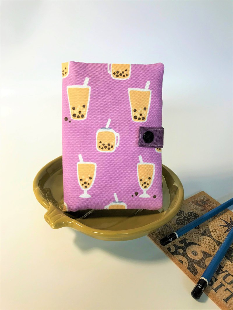 Fantasy【韓國珍珠奶茶棉布】護照套夾