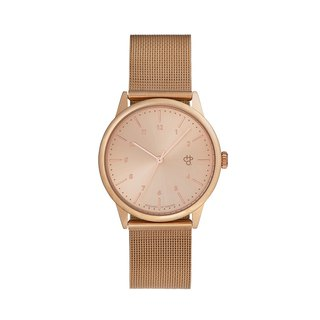 Swedish Brand - Rawiya Rose Gold Dial - Rose Gold Milan with Adjustable Watch