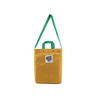 || Walking bag || (M) mustard yellow / green