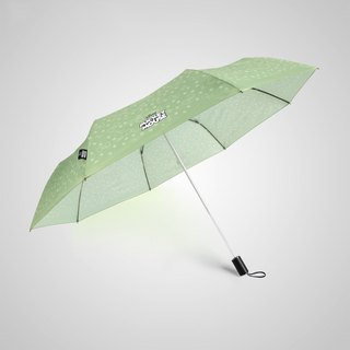 [Germany kobold] Disney official authorization - rain umbrella - Minnie bow - green