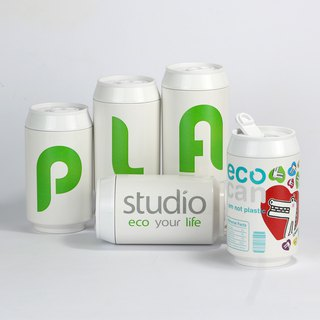 PLAStudio-ECO CAN-280ml-Customized Project-Made from Plant