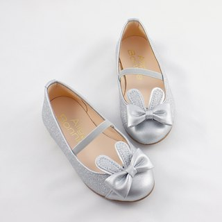 Rabbit Jumping Doll Shoes - Jumping Silver