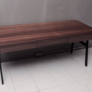 Industrial wind _ modeling solid wood desk / desk / studio / family and commercial space, etc.