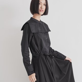 8 lie down . Special two-layer square collar shirt