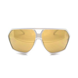 Fashion Eyewear - Sunglasses Sunglasses / Aaron pure white