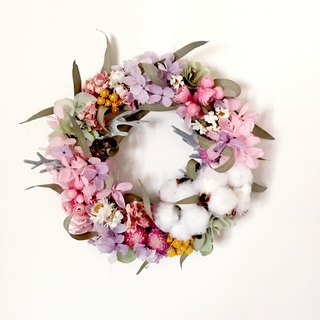 | Sakura | Dry flowers. Not withered. Hydrangea Wreath