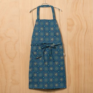 Full / Half 2 Way Apron / Firework / Blue Night