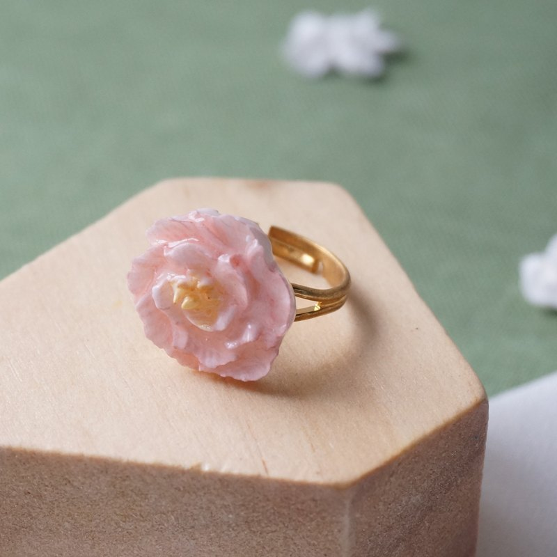 Peony Ring =Flower Piping= Customizable