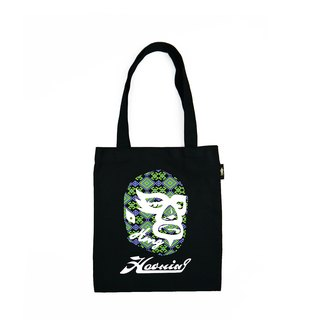 Luminous Color Tote Bag 蓄光變色手提帆布袋 BLACK S