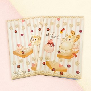 A5 Notebook - Toast Rabbit