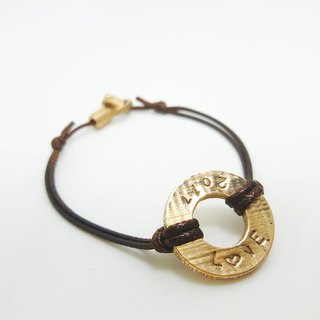 A9 - Royal Craftsman's Exclusive Knitting - Pure Copper Bracelet - Custom Knocking - Manual DIY