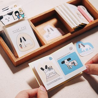 Huge Dog - Picture Book Stickers - vol.01