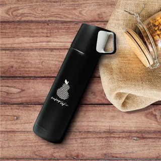 Laser Engraved Stainless Steel Water Bottle,Custom Thermos, Cold Water Bottle