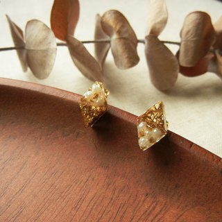 *coucoubird*gorgeous - mini pearl gold ear acupuncture / diamond