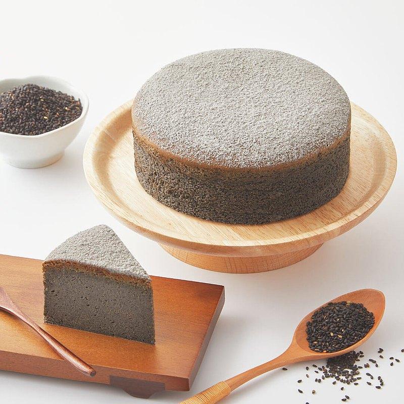 黑芝麻麻麻蛋糕