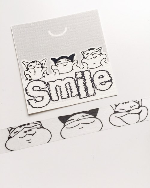 Smile paper tape (masking tape)