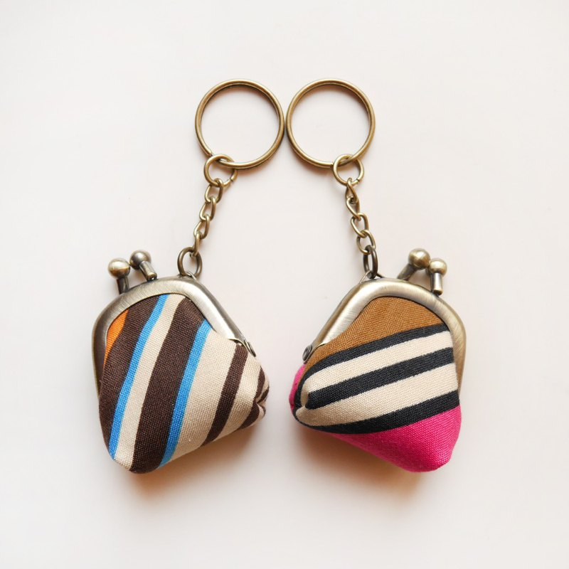 Late summer bikini exquisite gold bag / coin purse / key ring [made in Taiwan]