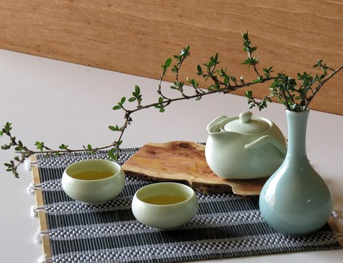 《Nature series - hand and natural side pot》