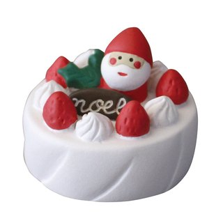 [Japan Decole] Christmas limited edition ornaments ★ concombre Santa Claus cream strawberry cake