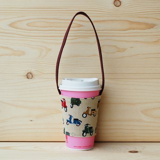 Retro fast gram drink bag/cup set