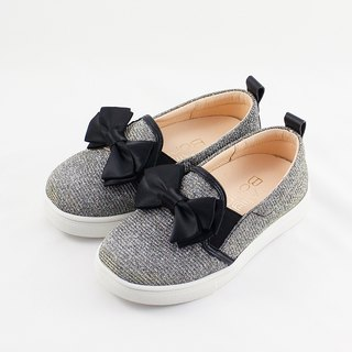 Fashion princess can also be very casual shoes - starry black