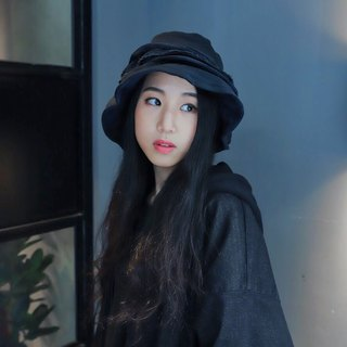 LNN List New Notions Layer Bucket Hat 單面漁夫帽 | 深藍色