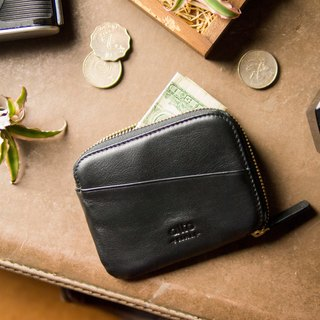 alto Leather Pouch Wallet - Raven