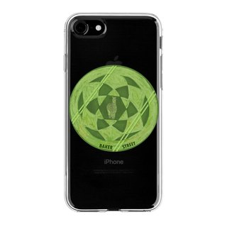 Green alpaca design phone shell
