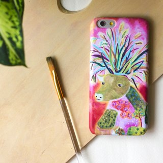 A forsest deer with nature. Matte Case (iPhone, HTC, Samsung, Sony)