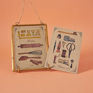 Stationery & Kitchen Tools Vintage Postcards