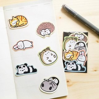 Stickers | Animal ( Lazy )