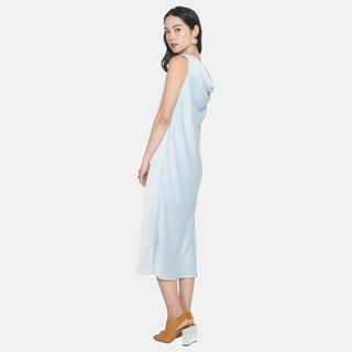 Back Drape Midi (Light Blue)