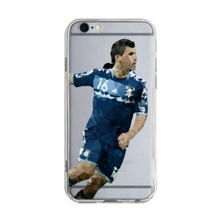 World Soccer Player - iPhone X 8 7 6s Plus 5s Samsung S7 S8 S9 Mobile Shell