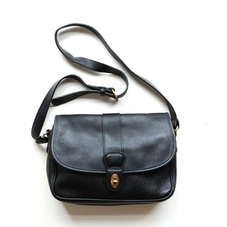A ROOM MODEL - VINTAGE, BC-2556 COACH long black shoulder bag