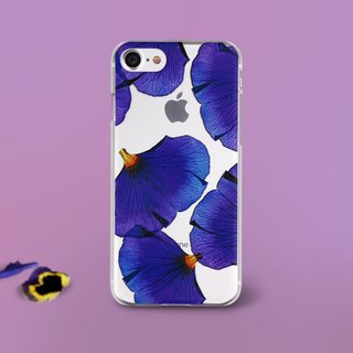 Petals Art iPhone 6/7/Plus Emboss Case (A)