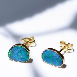 K18YG×Opal / Azure Blue -Pierce-