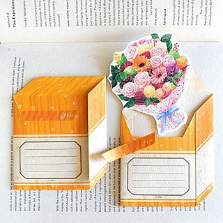 Greeting card/Flower box