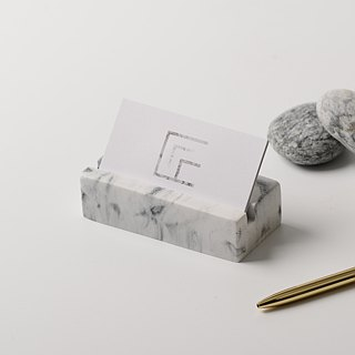 Marble。business card holder