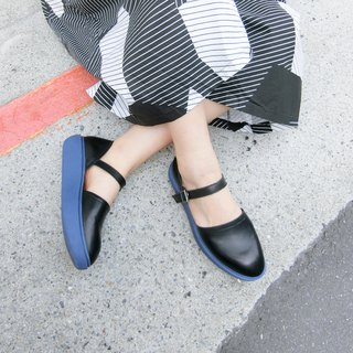 Thick-soled lace-up shoes|| Lightning puffs near the Eiffel Tower blue foggy black|| Picture #8125
