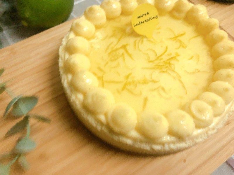 原味檸檬重乳酪蛋糕/彌月蛋糕/生日蛋糕/(6吋)